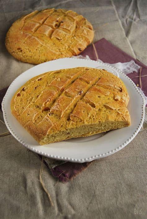 pain  la farine de mais  pignons recette