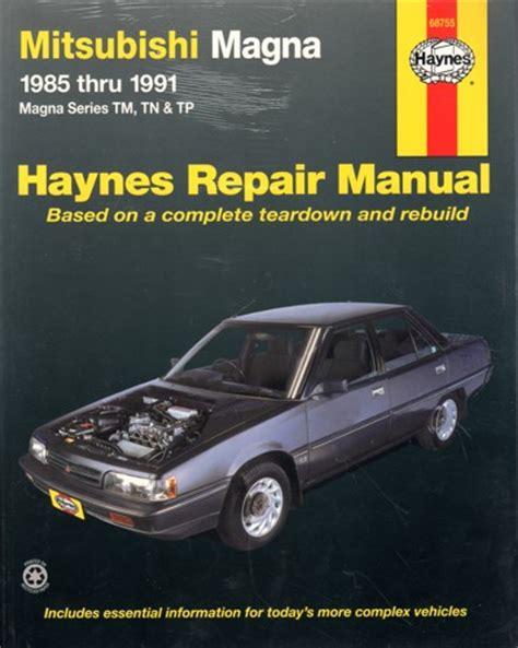 book repair manual 1985 mitsubishi pajero regenerative braking mitsubishi magna tm tn tp 1985 1991 haynes service repair manual sagin workshop car manuals