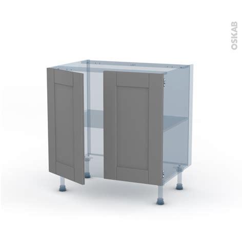 meuble cuisine kit filipen gris kit rénovation 18 meuble bas cuisine 2 portes