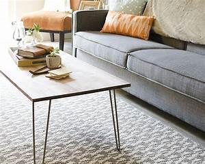 Pied De Table En épingle : diy une table basse pieds en pingles bricobistro ~ Dailycaller-alerts.com Idées de Décoration