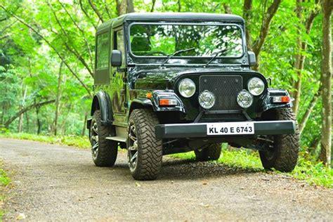 thar jeep modified in kerala mahindra thar
