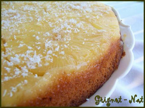 dessert noix de coco ananas gateau ananas noix de coco facile