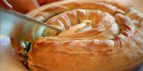 filo pastry cases canapes zelnik recipe balkan filo pastry pie great chefs