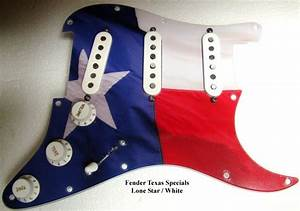 Loaded And Wired  U0026quot Lone Star State U0026quot  Pickguard For Fender