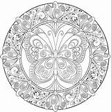 Complex Mandala Pages Coloring Getcolorings Printable Complicated sketch template