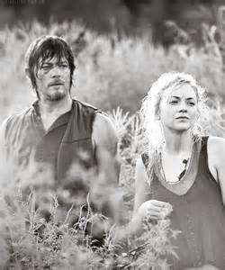 Daryl Dixon and Beth Greene Walking Dead