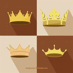 Royal crowns collection Vector | Premium Download