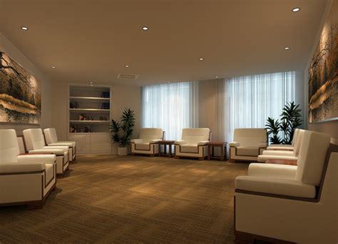 3d Interior Hotel Reception Room Designs