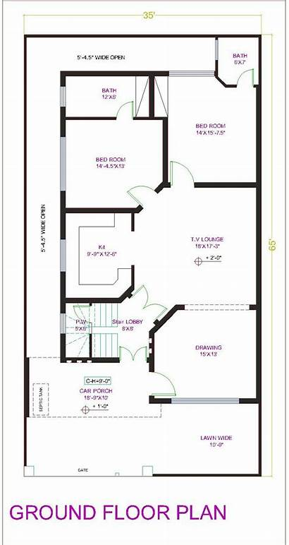 Plans Marla Plan Floor Layout Pakistan Duplex
