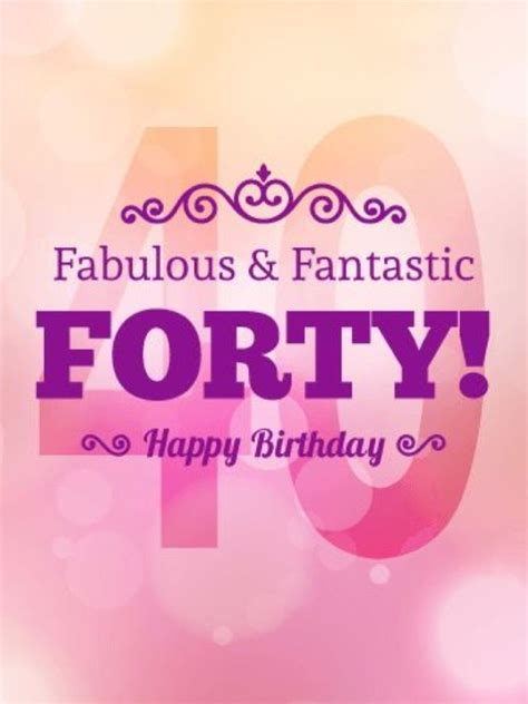 Celebrate the occasion with the right words from our collection. Pin by Marilyn Guzman on BD Niece | 40th birthday quotes, 40th birthday cards, 40th birthday wishes