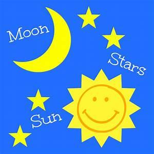 Happy Babies  Explore Sun  Moon  And Stars