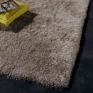 tapis shaggy polaris taupe 230x160 cm leroy merlin With tapis shaggy taupe