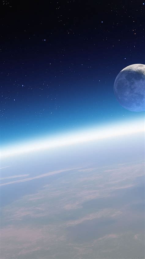 md wallpaper earth horizon  space papersco