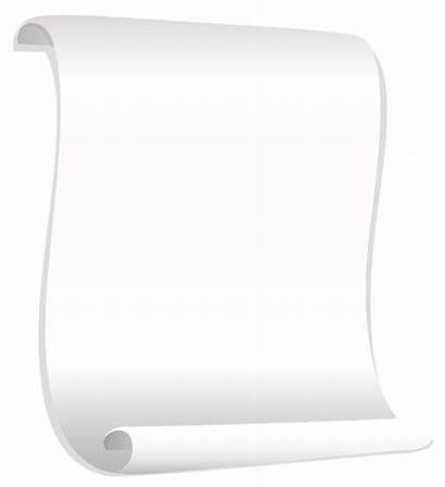 Paper Clipart Scrolled Scrolls Yopriceville Transparent Clip