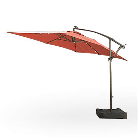 Offset Rectangular Outdoor Umbrellas by Replacement Canopy For Rectangular Solar Offset Umbrella