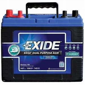 Batterie Agm Camping Car : exide agm battery group 24dp automotive ebay ~ Medecine-chirurgie-esthetiques.com Avis de Voitures