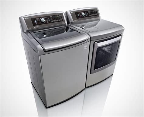 Lg Showcases Mega Capacity Front And Top Loader Washer