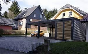 Design Carport Holz : design metall carport aus stahl holz mit abstellraum wien sterreich stahlzart timeless design ~ Sanjose-hotels-ca.com Haus und Dekorationen