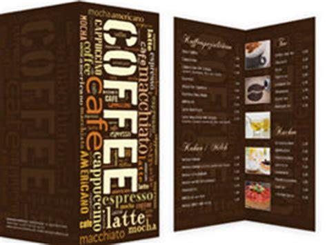 speisekarten getraenkekarten  erstellen gestalten