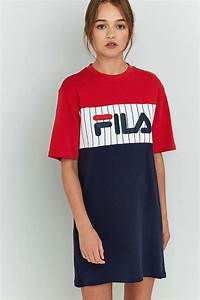Fila robe t shirt ruby robe and clothes for Robe pull fila