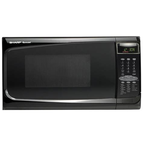 Sharp Microwave Ovens Countertop by Sharp Countertop Microwaves 1 4 Cu Ft R402jkt Sears
