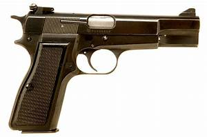 Deactivated OLD SPEC Browning High Power 9mm Semi ...