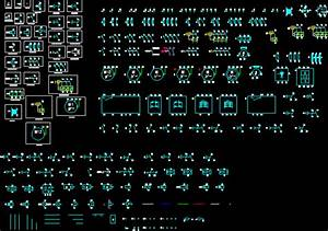 Template And Electric Symbols In Autocad