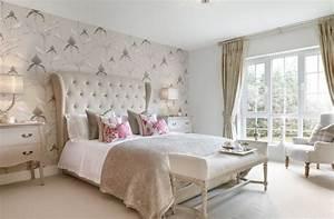 10 papiers peints qui transforment completement la chambre With papier peint de chambre a coucher