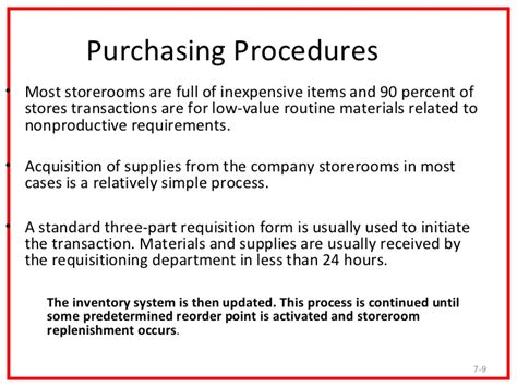 Purchasing Policies And Procedures Template by Purchasing Procedures E Procurement And System