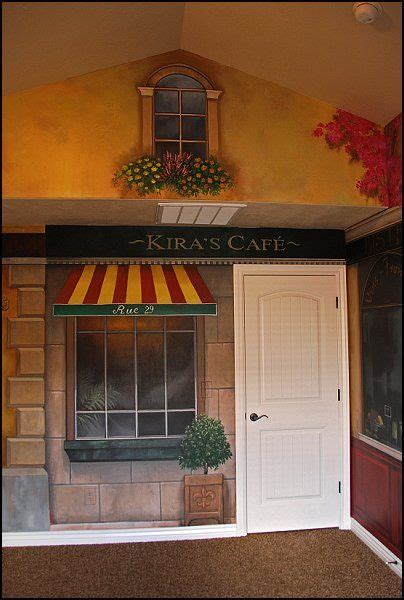 Kitchen Decorating Ideas Themes by Kitchen Ideas With Cafe Murals Ideas Cafe