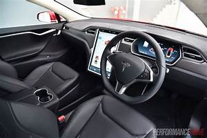 Tesla Model S 90D-interior