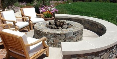gas fireplace insert rocks outdoor pit design ideas landscaping