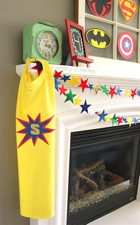 diy personalized superhero cape    shirt happiness