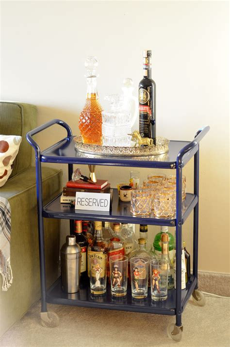 diy trend bar carts diy