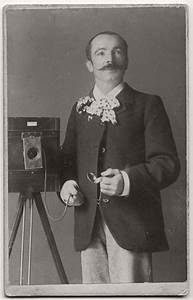 Vintage, 19th, Century, Photographers, With, Their, Cameras