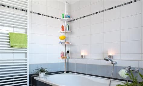 Badezimmer-eckregal In Weiß
