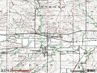 strong city kansas ks  profile population maps