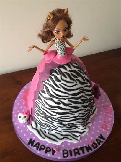 Monster Cake Birthday Cakes Decorations Decoration Doll