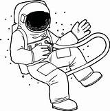 Astronaut Astronauts Roald Bfg Finecoloringpages Getdrawings Fly Witches Clipartmag Acessar Wecoloringpage sketch template