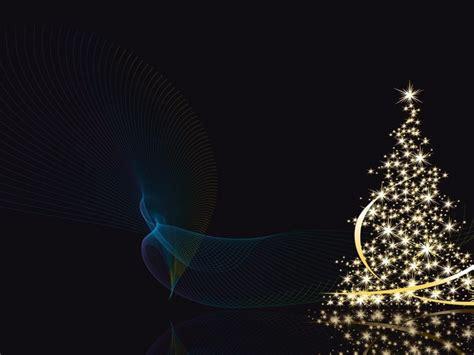 arbol de navidad con fondo negro 1024x768 fondo de