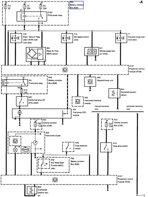 2003 Contour Wiring Diagram by I Replaced The Fuel And The Car Is Still Not Getting