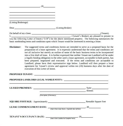 lease proposal examples   apple pages examples