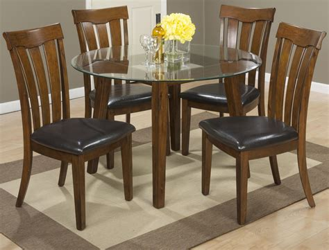 Buy Kitchen Table Set by Jofran Plantation 48 Quot Dining Height Table With Glass