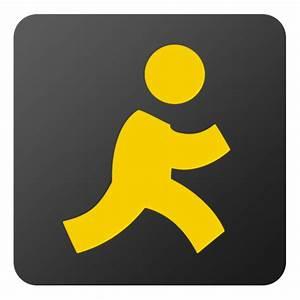 AIM Icon - Flat Gradient Social Icons - SoftIcons.com