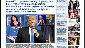 Donald Trump Defends His Racist Comments On Prime Time ...
