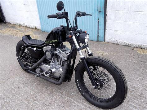 Crazy Orange Style Harley Davidson Sportster Bobber