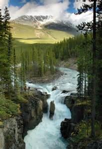 Sunwapta Falls Jasper National Park Alberta