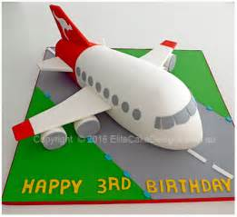 airplane cake topper qantas plane kids birthday cake aeroplane cakes by