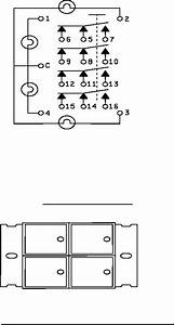 Figure 2  Lamp And 4pdt Switch Schematic