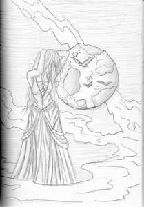 Full Moon - Drawing | Pencil drawings | Pinterest